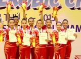 Tuyển Việt Nam nhất toàn đoàn giải Aerobic châu Á