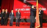 Chủ tịch nước trao danh hiệu Anh hùng cho tập đoàn dệt may