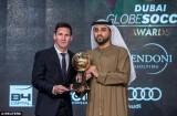 Lionel Messi lần đầu giành giải thưởng Globe Soccer Awards