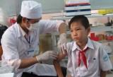 Long An đạt 98,6% trẻ từ 1 - 14 tuổi tiêm vắc xin Sởi-Rubella