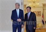 Thủ tướng Campuchia và Ngoại trưởng Mỹ thảo luận về Biển Đông