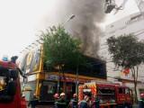 Cháy lớn tại trung tâm TP HCM