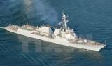 Tàu tên lửa Mỹ tiến gần đảo Tri Tôn thuộc quần đảo Hoàng Sa