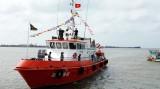 Bộ đội Biên phòng Kiên Giang nhận tàu tuần tra hiện đại