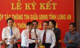 UBND tỉnh Long An và Thông tấn xã Việt Nam: Ký kết hợp tác thông tin