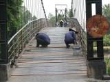 Vụ xà lan đâm vào cầu dây Mỹ Phước: Chủ bồi thường chi phí sửa chữa