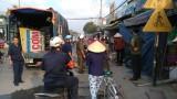 Giải tỏa lấn chiếm hành lang Đường tỉnh 825