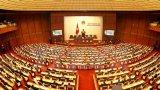 Khai mạc trọng thể kỳ họp cuối cùng của Quốc hội khóa XIII