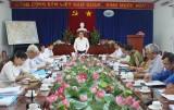 Long An: Kiểm tra công tác bầu cử tại huyện Cần Đước