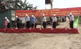 Châu Thành khởi công công trình giao thông nông thôn