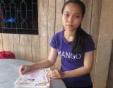 Nỗ lực vượt khó của cô học trò nghèo