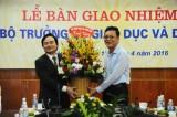 Ông Phùng Xuân Nhạ chính thức tiếp nhận Bộ trưởng GD-ĐT