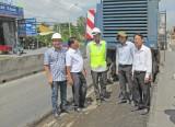 Thi công thảm nhựa 16km QL1 đoạn qua Long An – Tiền Giang