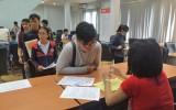 Nhiều thí sinh đăng ký hồ sơ thi THPT Quốc gia vào giờ chót