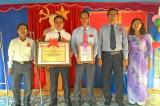 Tân Thạnh: THCS Tân Thành đón nhận danh hiệu trường chuẩn quốc gia
