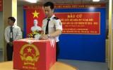 Bà Rịa - Vũng Tàu: Cử tri ngành dầu khí bỏ phiếu sớm
