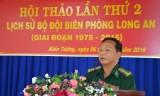 Hội thảo lịch sử Bộ đội biên phòng Long An giai đoạn 1975-2015