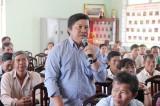 Ứng cử viên ĐBQH khoá XIV tiếp xúc cử tri huyện Tân Thạnh, Châu Thành, tỉnh Long An