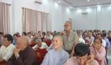 Ứng cử viên đại biểu Quốc hội khóa XIV tiếp xúc cử tri Đức Hòa
