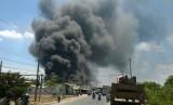 Cty bao bì Saphia bị cháy khoảng 500 mét vuông nhà xưởng