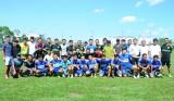 Long An: Giao lưu bóng đá quyên góp giúp gia đình Trần Phước Thọ