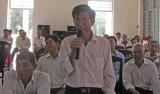 Long An: Ứng cử viên ĐBQH tiếp xúc cử tri tại huyện Thạnh Hóa và TP.Tân An