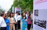 Triển lãm ảnh kỷ niệm 126 năm ngày sinh Chủ tịch Hồ Chí Minh