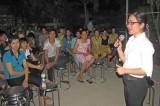 Đức Hòa: Nhiều công nhân tham gia bầu cử ở địa bàn tạm trú