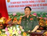Bộ trưởng Bộ Quốc phòng Ngô Xuân Lịch thăm chính thức Lào