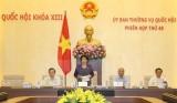 Khai mạc phiên họp thứ 48 Ủy ban Thường vụ Quốc hội khóa XIII