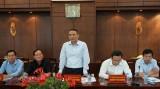 Bộ trưởng Bộ GTVT- Trương Quang Nghĩa làm việc với lãnh đạo tỉnh Long An