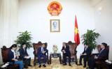 Phó Thủ tướng Trương Hòa Bình tiếp đại sứ Nhật Bản