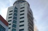 Cháy tại trụ sở Đài PTTH Hải Phòng, một người tử vong