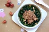 Canh rau muống nấu riêu cua