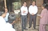 Phó Chủ tịch UBND tỉnh Long An vận động xây nhà tình thương cho hộ nghèo
