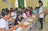 Trường THPT Tân Hưng: Phấn đấu đạt trên 80% học sinh tốt nghiệp THPT 2016