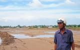 Đất lúa bị nhiễm mặn vì nhà thầu bơm cát làm nền đường cao tốc