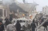 Không kích ồ ạt ở Damascus, hơn 30 dân thường thiệt mạng