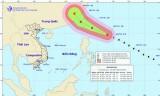 Xuất hiện siêu bão Nepartak trên vùng biển phía Đông Bắc đảo Luzon