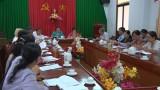 Đức Hòa sơ kết hoạt động và quản lý hội 6 tháng đầu năm 2016