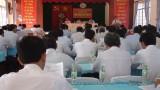 Huyện ủy Cần Giuộc họp lần thứ 5