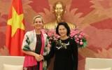 Chủ tịch Quốc hội tiếp Đại sứ Thụy Điển và Đan Mạch