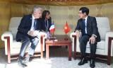 Phó Thủ tướng Phạm Bình Minh tiếp xúc song phương bên lề Hội nghị ASEM