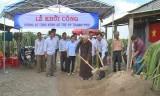 Châu Thành: Khởi công xây dựng đường kênh Ao Tre
