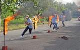 Long An: Hội thao kỹ thuật nghiệp vụ phòng cháy, chữa cháy và cứu nạn, cứu hộ