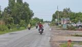 Long An: Nguy cơ mất an toàn giao thông trên tuyến Quốc lộ N2