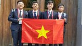 Việt Nam giành hai huy chương vàng Olympic Hóa học quốc tế
