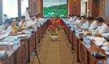 Đoàn kiểm tra Ủy ban quốc gia về thanh niên Việt Nam làm việc tại Long An
