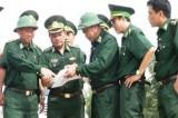 Bộ Tư lệnh Bộ đội Biên phòng kiểm tra công tác biên phòng tại Long An