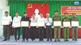 Châu Thành họp mặt kỷ niệm ngày truyền thống lực lượng Công an nhân dân